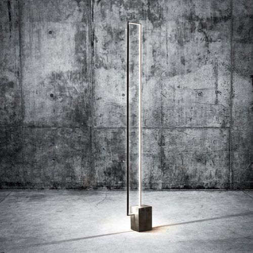Floor standing lamp / contemporary / metal / LED MIRE LT CINIER