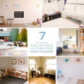 7 ideas Montessori para decorar una habitación infantil