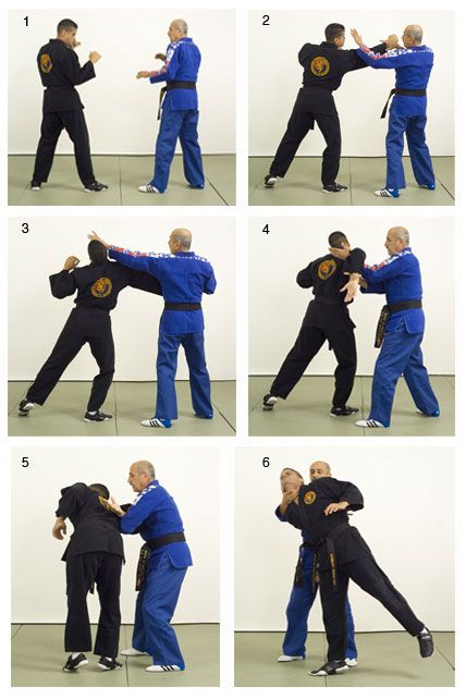 Hapkido self defense technique from Black Belt Magazine Master Self-Defense  to Protect Yourself