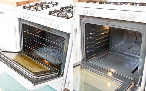 Самое эффективное средство для чистки духовки
