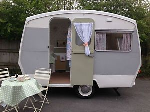 details about vintage 1964 sprite 400 caravan retro classic restored upto 4 berth. Black Bedroom Furniture Sets. Home Design Ideas
