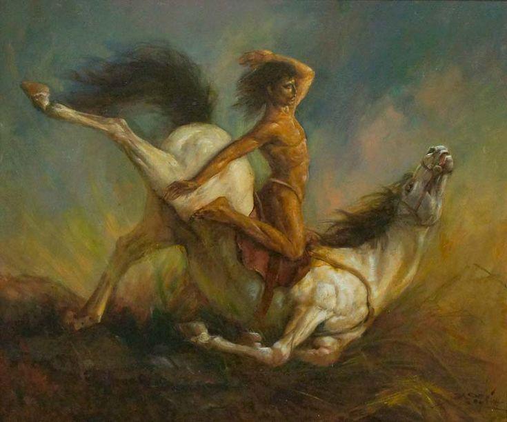 Basoeki Abdullah - The White Horse