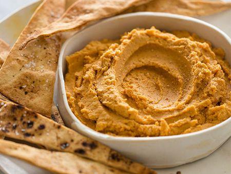 Recipes - Pumpkin hummus