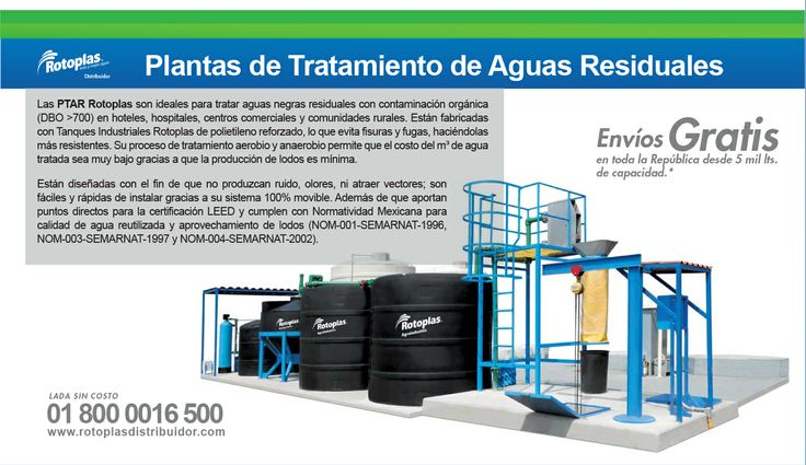 Plantas de Tratamiento de Aguas Residuales #Tanques #Rotoplas #Aguasresiduales #Agua Lada sin costo 01 800 0016 500 http://www.youtube.com/watch?v=Uow_rG0x_Ig