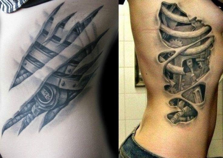 biomechanik-tattoo-rippen-frau-roboterteile