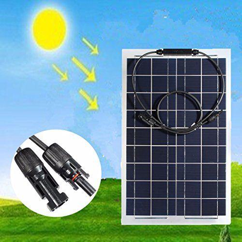 Mohoo 30W 12V Monokristalline Solarpanel Energie Semi Fle... https://www.amazon.de/dp/B01L16VHA8/ref=cm_sw_r_pi_dp_x_ADubybS8C3GD1