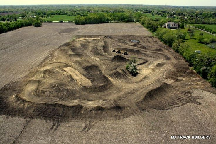 Motocross Track- something we plan to build in our home one day for our kids &us:)
