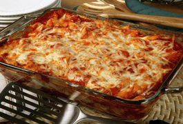 To make baked ziti for 50 people, use a baked-ziti recipe and increase it. Take the number of people you want to feed and divide it by the number of people a recipe says it feeds. This gives you the number you need to multiply your ingredients by to achieve the amount of food you require. In this instance, divide 50 by six, which is the smallest...