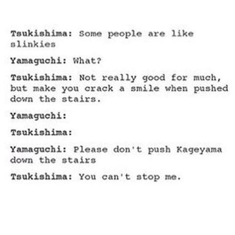 tsukishima x yamaguchi babies - Google Search