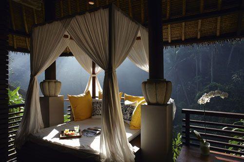 Relaxing Bale at Maya Ubud Spa, Bali