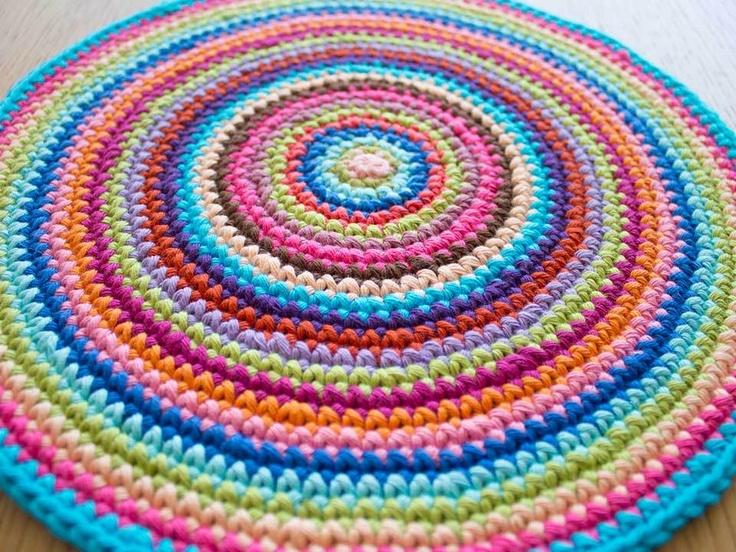 Crochet mandala ~ tutorial