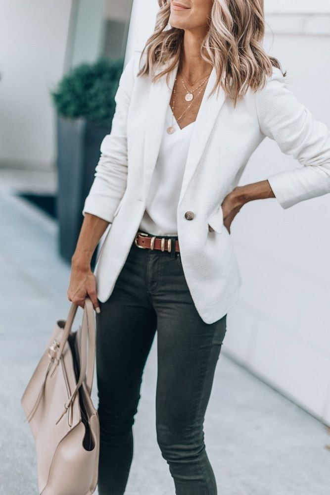 47 Awesome Casual Office Outfits Ideen, die Sie au…