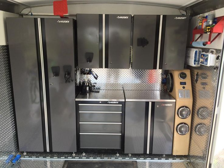 30 foot enclosed trailer weight