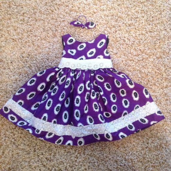 Ankara baby girl dress by Bluerues on Etsy, $30.00