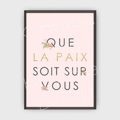 Poster #13 - As Salam Alaykum / Que la paix soit sur vous / Peace be upon you