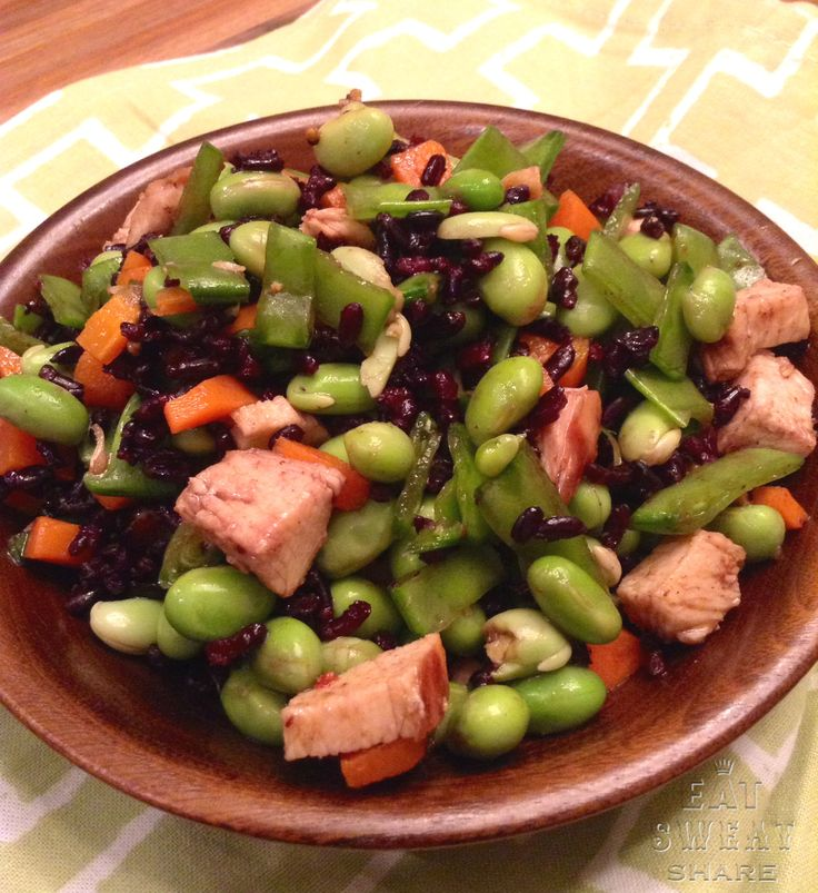... : Salads on Pinterest | Waldorf salad, Edamame salad and Kidney beans