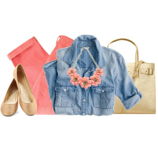 A fashion look from February 2014 featuring J.Crew blouses, Maison Scotch jeans and Kurt Geiger tote bags. Browse and shop related looks.
