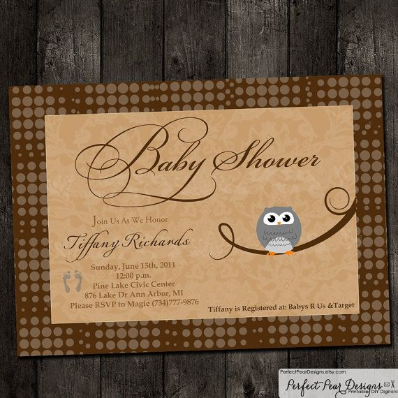 Vintage Owl Baby Shower Invitations: 93 Best Perfect Owl Theme Baby Shower! Images On Pinterest