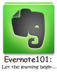 Great tips on how to use Evernote to share notes in your classroom.
