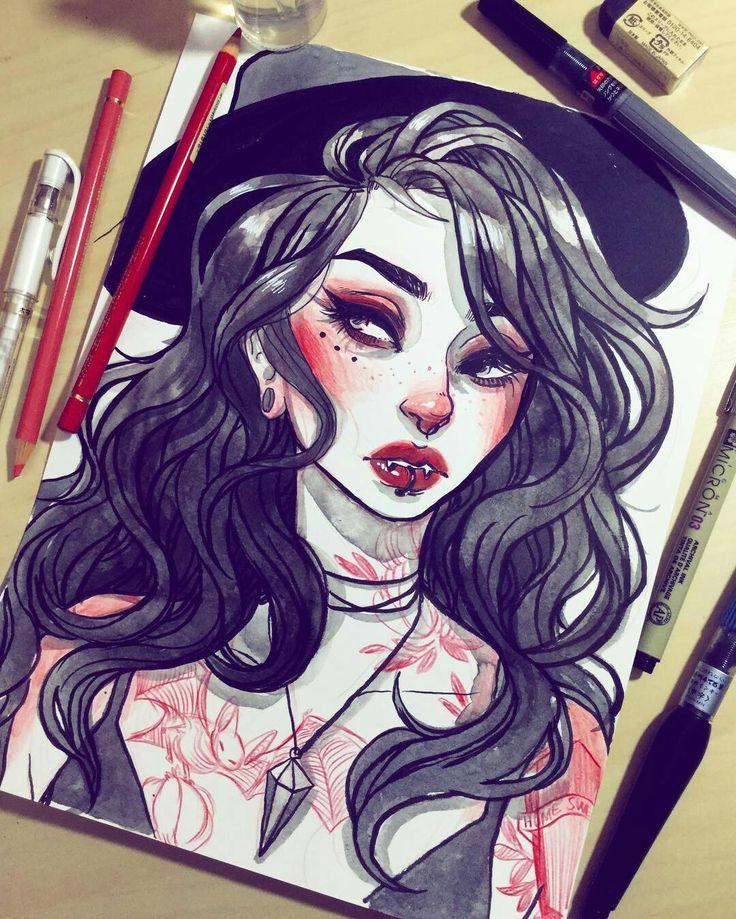 best 20 vampire drawings ideas on pinterest