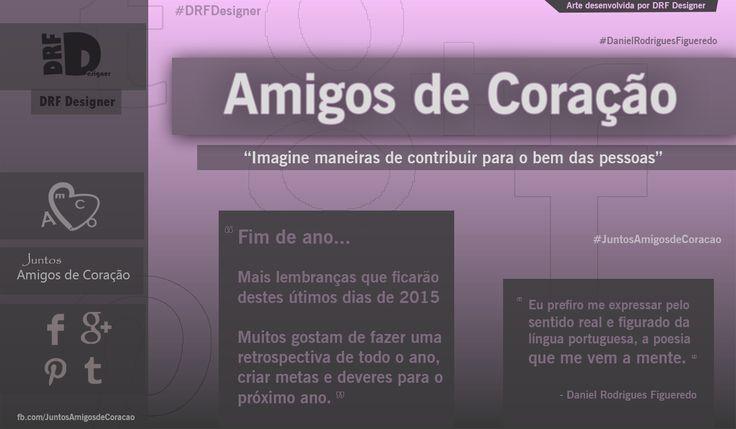 Capa AmCo Fim de 2015 - Marketing DRF Designer   -   Visite: www.facebook.com/JuntosAmigosdeCoracao      -      http://drfdesigner.tk          -        @DRFDesigner