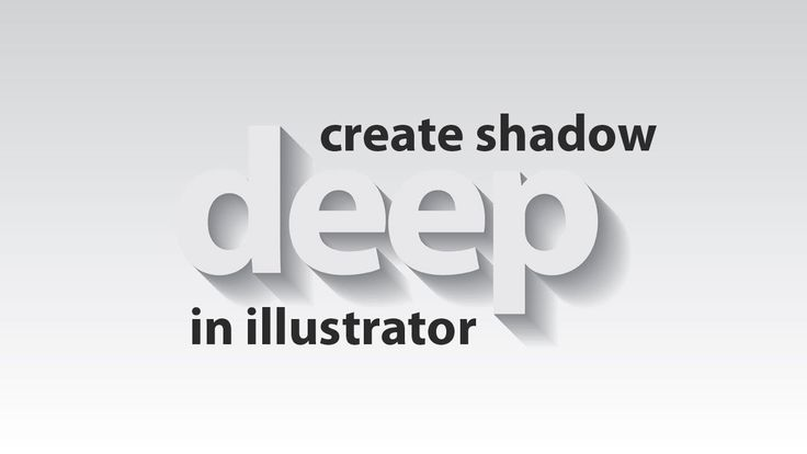 Illustrator tutorial : How to create shadow with any object