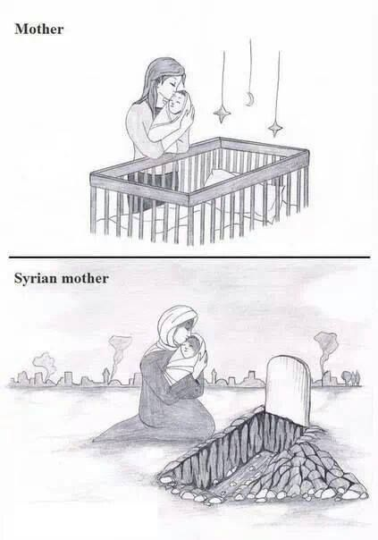 No mother should EVER have to go through this! No more war!!