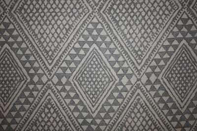 "Mark Alexander (Romo) ""Kasai"" designer curtain fabric gunmetal 1.9 metre piece | eBay"