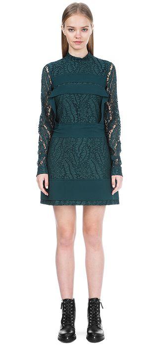 Кружевное платье N°21