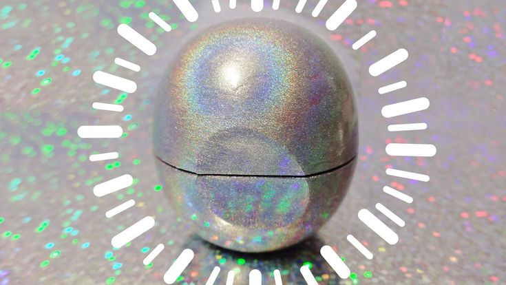DIY EOS Balsamo Labial Arcoiris Holográfico! Transforma Tu EOS