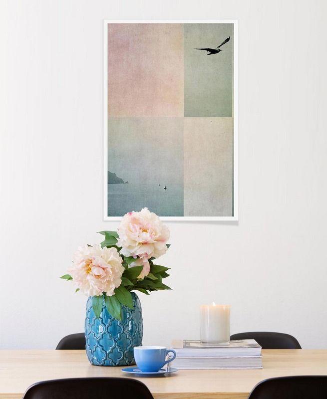Fabulous Fly Away als Premium Poster von Ingrid Beddoes JUNIQE
