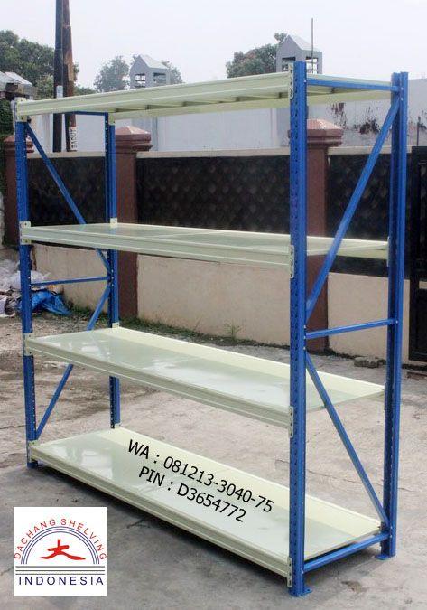 Pemesanan Rak Gudang DC 50 Hub. WA / Call 081213-3040-75 PIN D3654772 http://jualrakshelving.blogspot.co.id/2016/10/rak-gudang-dc-50-medium-duty-rack.html