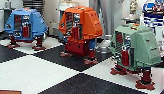 Silent Running Robots   Drone Silent Running Robot