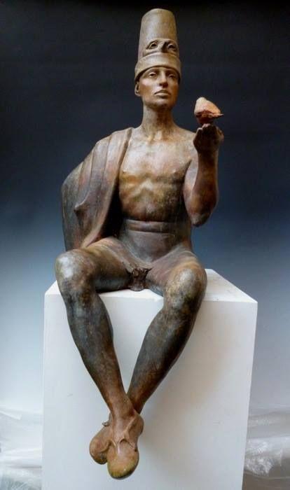 Pinocchio impara a volare- Giuseppe Tirelli, 2008, scultura