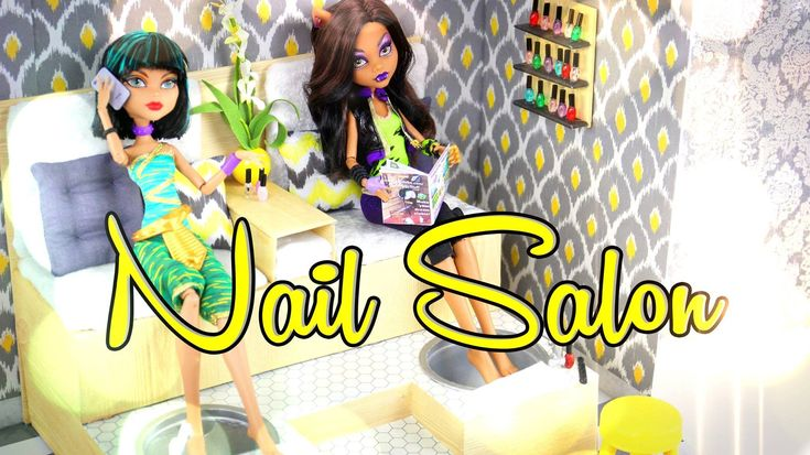 by request: You ask and we deliver!! XD ... check out his Fabsome new craft, How to Make a Doll Nail Salon!! Support My Froggy Stuff on Patreon: https://www....
