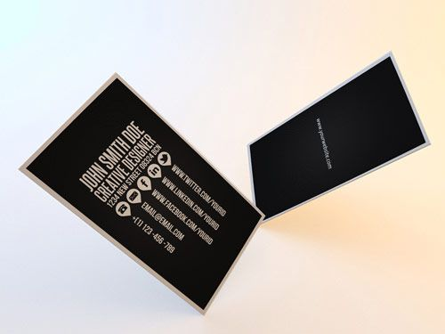 12 cleanbusinesscard in Inspiring Double Sided Business Cards