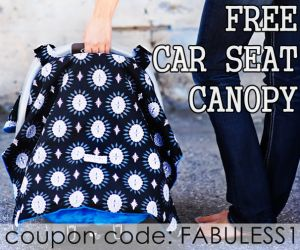 coupon codes for free car seat canopys, nursing covers, baby slings and nursing pillows.  just pay shipping
