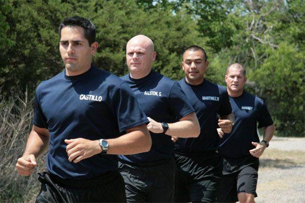 Law Enforcement Running Test