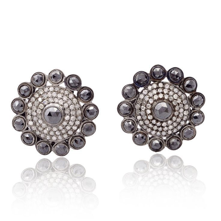 4.41ct Pave Diamond .925 Sterling Silver Designer Cufflinks Handmade Jewelry   Jewelry & Watches, Men's Jewelry, Cufflinks   eBay!