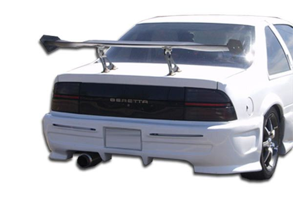 1988-1996 Chevrolet Beretta Duraflex Type X Rear Bumper Cover - 1 Piece