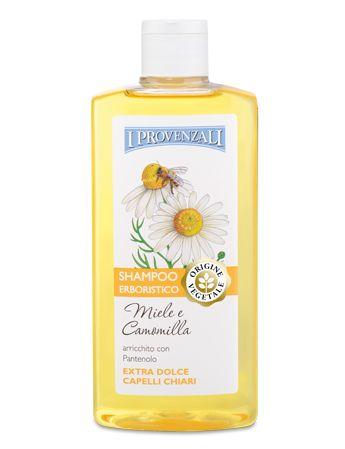 Shampoo al Miele e Camomilla