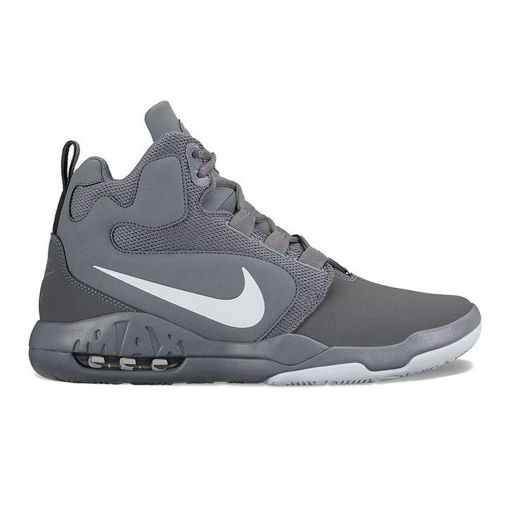 Nike Air Conversion Men's Basketball Shoes, Size: 8.5, Black