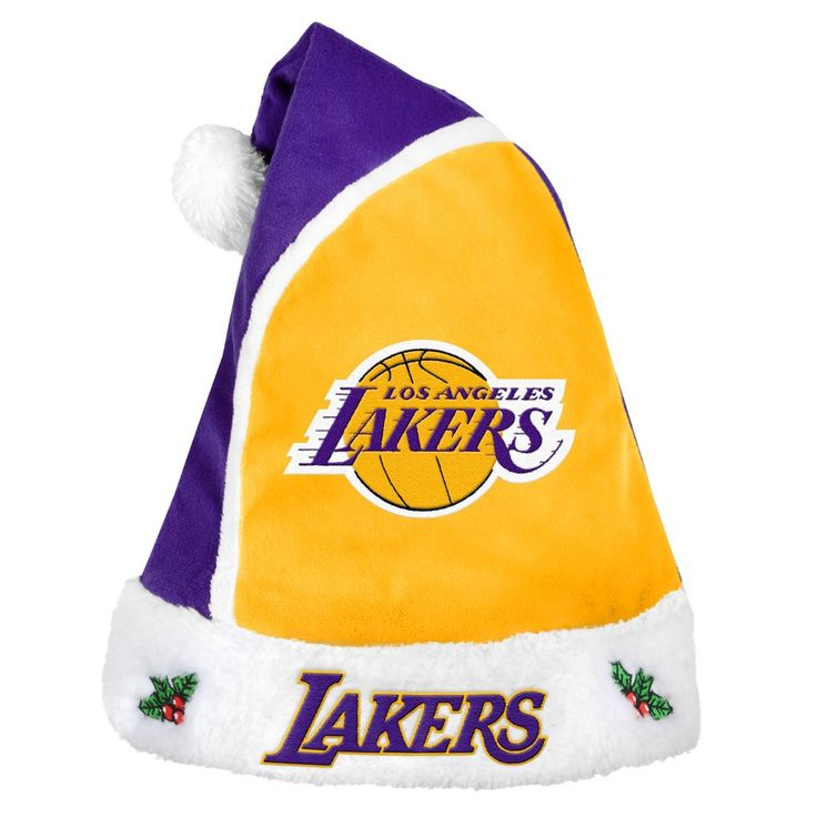 Los Angeles Lakers Basic Santa Hat