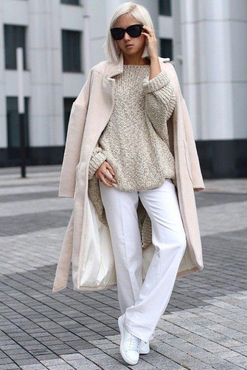 нескучный дресс-код, осенний гардероб 2015, базовый гардероб на осень, уличный стиль осень, модные вещи сезона, модные тренды тенденции осень 2015, стильный образ на каждый день, street style, street fashion, women's knitwear, I love knitwear (фото 4)