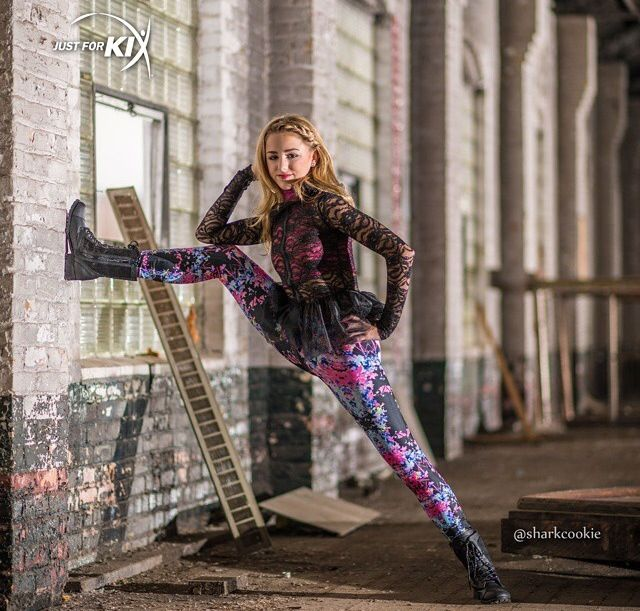 Chloe Lukasiak in her Just For Kix campaign