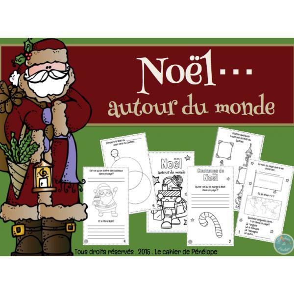Noël autour du monde Le cahier de Pénélope