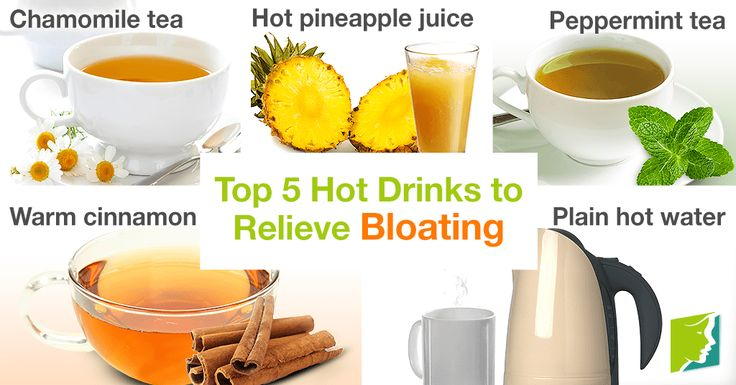 Although normal, bloating can be uncomfortable. Click here to read about 5 soothing and warm beverages that will help a bloated tummy