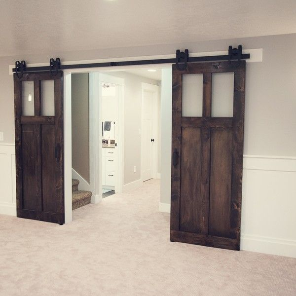 20 Home Offices With Sliding Barn Doors: Best 25+ Glass Barn Doors Ideas On Pinterest