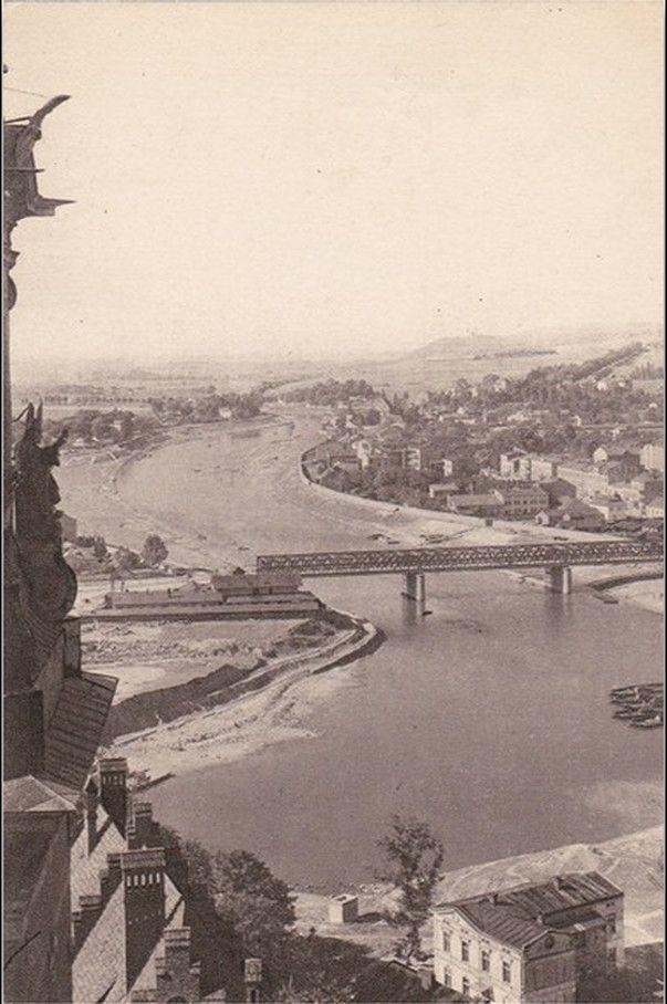 Rzeka Wisła (Kraków), Kraków - 1910 rok, stare zdjęcia
