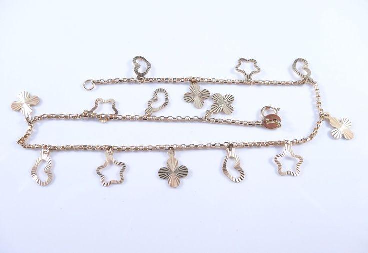 $282 Leg 14K Gold Bracelet, info@bijuterie-online.ro.